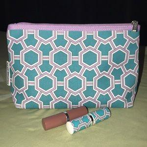 Clinique Makeup Bag and Lipstick